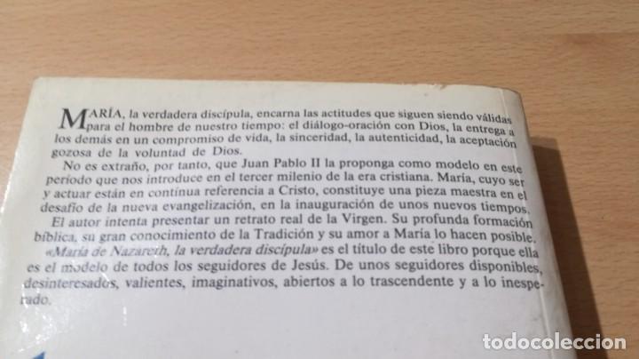 Libros de segunda mano: MARIA DE NAZARETH LA VERDADERA DISCIPULA/ FRANCISCO MARIA LOPEZ MELUS/ DEDICATORIA AUTOGRAFA - Foto 7 - 168114776