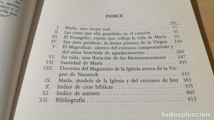 Libros de segunda mano: MARIA DE NAZARETH LA VERDADERA DISCIPULA/ FRANCISCO MARIA LOPEZ MELUS/ DEDICATORIA AUTOGRAFA - Foto 12 - 168114776