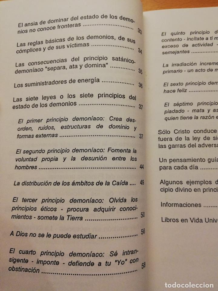 Libros de segunda mano: CRISTO PONE AL DESCUBIERTO: EL ESTADO DE LOS DEMONIOS, SUS CÓMPLICES Y SUS VÍCTIMAS - Foto 4 - 168512417