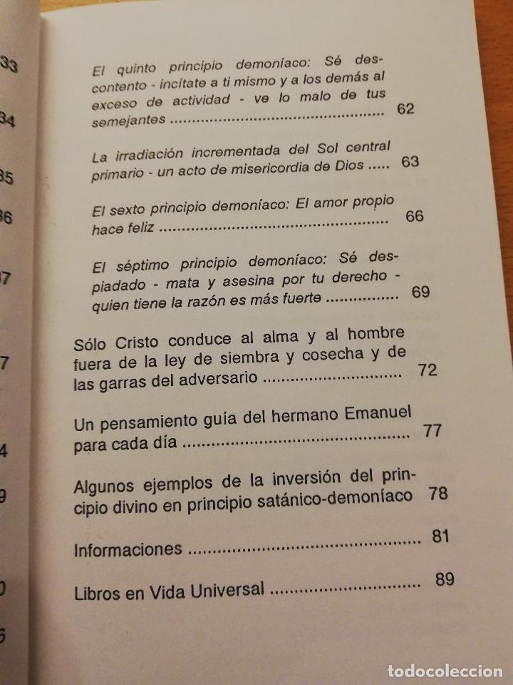 Libros de segunda mano: CRISTO PONE AL DESCUBIERTO: EL ESTADO DE LOS DEMONIOS, SUS CÓMPLICES Y SUS VÍCTIMAS - Foto 5 - 168512417