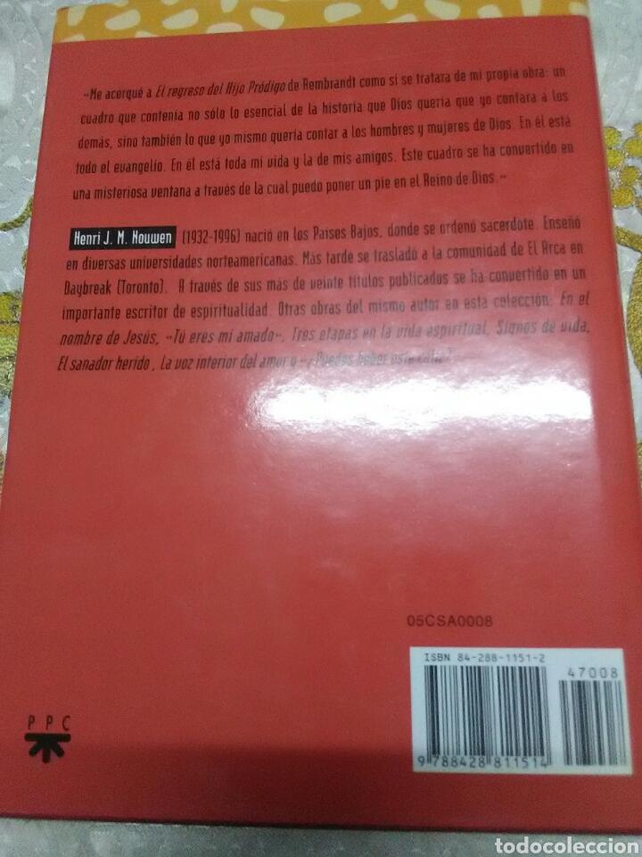 Libros de segunda mano: El regreso del hijo pródigo. Henri J. M. Nouwen. PPC. 1995. 3 ed. - Foto 2 - 168514616