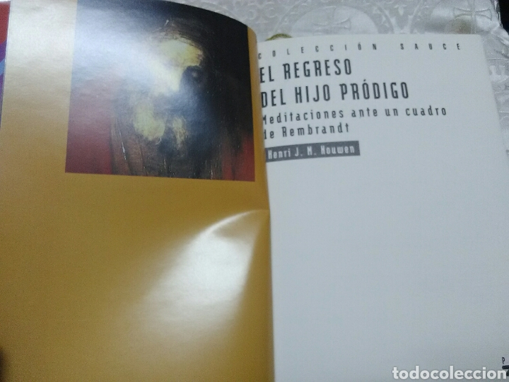Libros de segunda mano: El regreso del hijo pródigo. Henri J. M. Nouwen. PPC. 1995. 3 ed. - Foto 3 - 168514616
