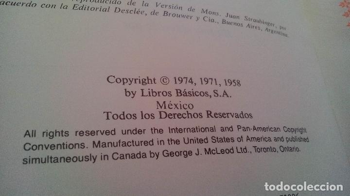 Libros de segunda mano: SAGRADA BIBLIA, EDICION FAMILIAR CATOLICA, EDICION DE LUJO - Foto 5 - 168653020