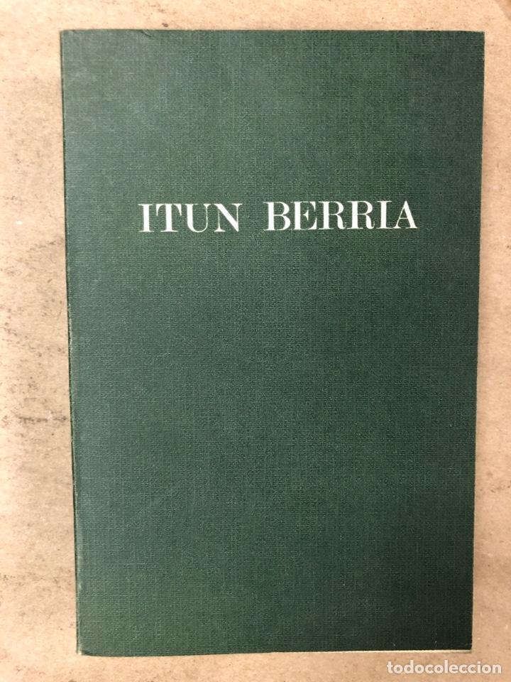 ITUN BERRIA (NUEVO TESTAMENTO EN EUSKERA). EDITORIAL DIOCESANA 1980. 735 PÁGINAS. (Libros de Segunda Mano - Religión)