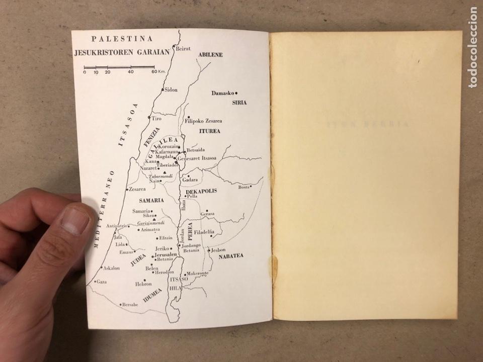 Libros de segunda mano: ITUN BERRIA (NUEVO TESTAMENTO EN EUSKERA). EDITORIAL DIOCESANA 1980. 735 PÁGINAS. - Foto 2 - 168970557
