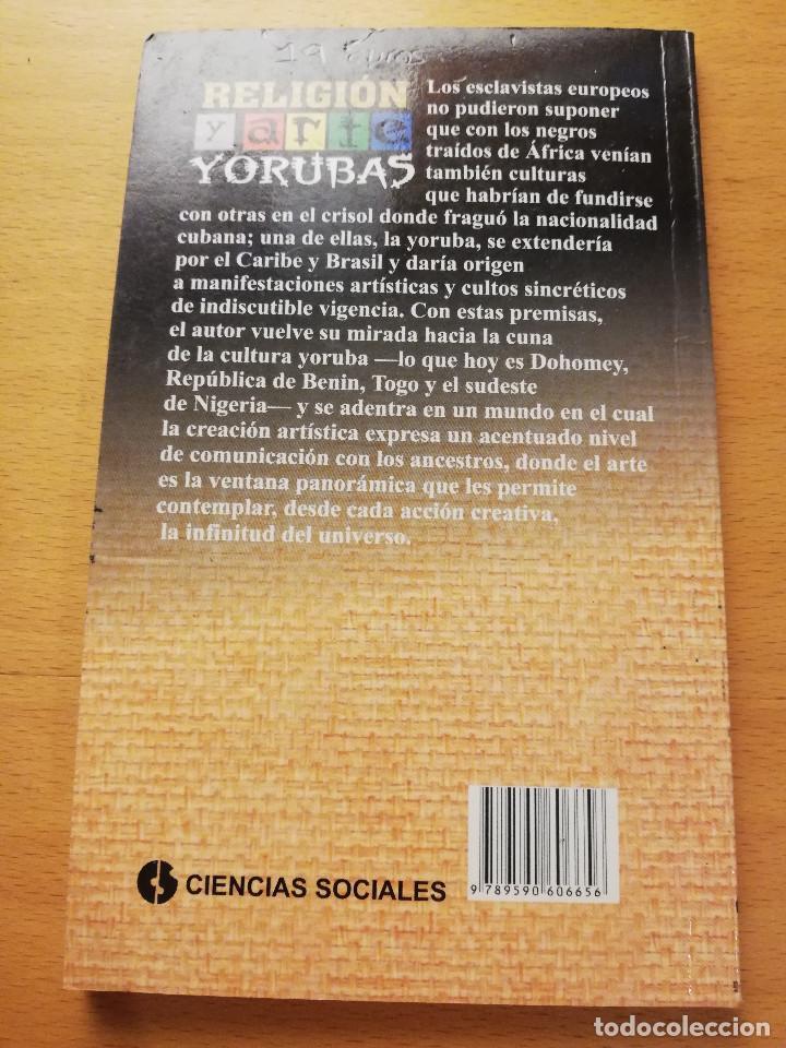 Libros de segunda mano: RELIGIÓN Y ARTE YORUBAS (PEDRO PABLO AGUILERA PATTON) EDITORIAL DE CIENCIAS SOCIALES, LA HABANA - Foto 4 - 169082636