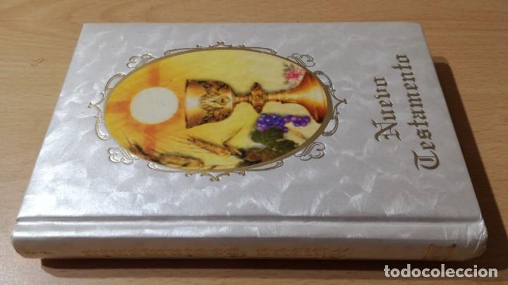 NUEVO TESTAMENTO - FELIX TORRES AMAT - 17X12X2 CM EDICOMUNICACION - LIBRO NUEVO DISPONIBLES 30 U (Libros de Segunda Mano - Religión)