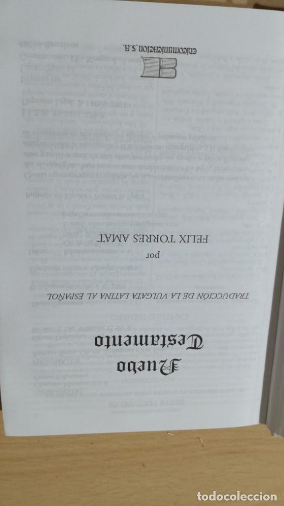Libros de segunda mano: NUEVO TESTAMENTO - FELIX TORRES AMAT - 17X12X2 CM EDICOMUNICACION - LIBRO NUEVO DISPONIBLES 30 U - Foto 4 - 169084088