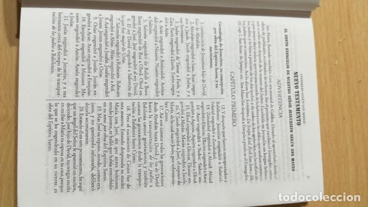 Libros de segunda mano: NUEVO TESTAMENTO - FELIX TORRES AMAT - 17X12X2 CM EDICOMUNICACION - LIBRO NUEVO DISPONIBLES 30 U - Foto 6 - 169084088