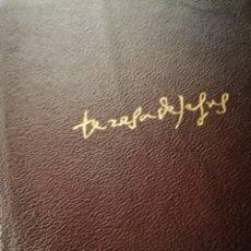 Libros de segunda mano: OBRAS COMPLETAS, SANTA TERESA DE JESÚS, AGUILAR. Lote 169188064