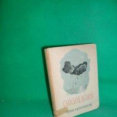 Libros de segunda mano: CONSOLACIÓN, NINO SALVANESCHI, ED. FAX. Lote 169439752