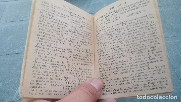 Libros de segunda mano: EL EVANGELIO DE NUESTRO SEÑOR JESUCRISTO SEGUN SAN JUAN - 1953 - 64 PAGINAS - Foto 5 - 169598056
