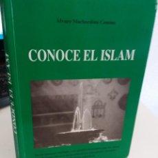 Libros de segunda mano: CONOCE EL ISLAM - MACHORDOM COMINS, ÁLVARO. Lote 169649380
