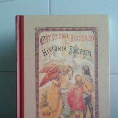 Libros de segunda mano: CATECISMO HISTÓRICO E HISTORIA SAGRADA, SATURNINO CALLEJA, EDICIONES EDAF. Lote 169922484