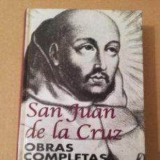 Libros de segunda mano: SAN JUAN DE LA CRUZ. OBRAS COMPLETAS (LUCINIO RUANO DE LA IGLESIA) BIBLIOTECA DE AUTORES CRISTIANOS. Lote 170227616