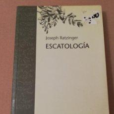 Libros de segunda mano: ESCATOLOGÍA (JOSEPH RATZINGER) BIBLIOTECA HERDER. Lote 170228028