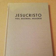 Libros de segunda mano: JESUCRISTO. VIDA, DOCTRINA, MILAGROS (P. ANDRÉS FERNÁNDEZ TRUYOLS) OBRA CULTURAL, AÑO SANTO 1950. Lote 170230376
