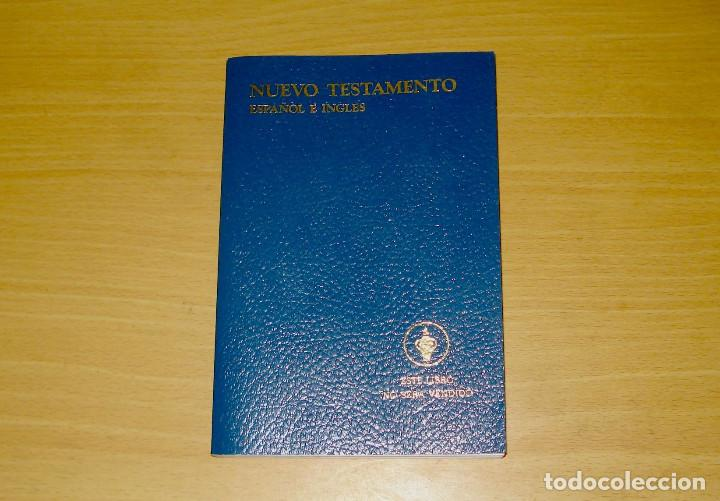 NUEVO TESTAMENTO ESPAÑOL E INGLÉS (ED. LOS GEDEONES INTERNACIONALES) AÑO: 1960 (Libros de Segunda Mano - Religión)