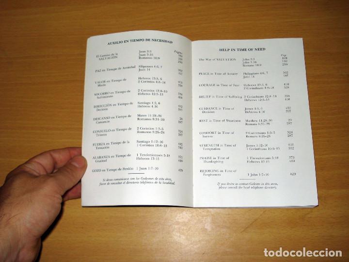 Libros de segunda mano: NUEVO TESTAMENTO ESPAÑOL E INGLÉS (ED. LOS GEDEONES INTERNACIONALES) AÑO: 1960 - Foto 2 - 170260200