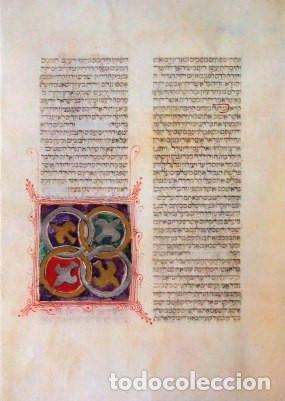 Libros de segunda mano: Biblia Hebrea, códice de El Escorial, siglo XVI. Facsímil. Testimonio - Foto 7 - 170417036