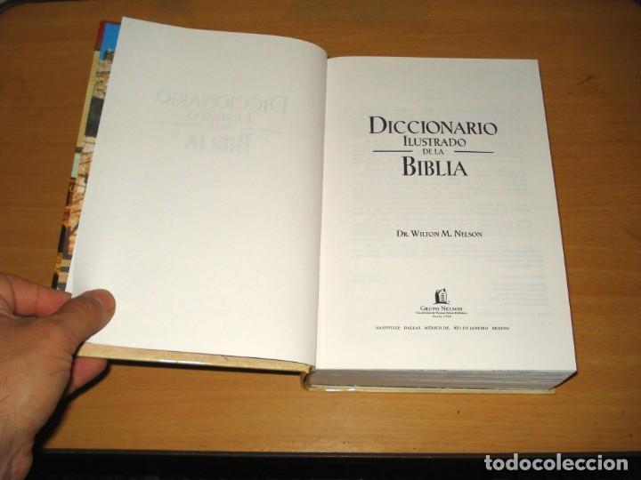 Libros de segunda mano: DICCIONARIO ILUSTRADO DE LA BIBLIA (DR. WILTON M. NELSON). EDITORIAL CARIBE INC. NASHVILLE (USA). - Foto 3 - 171165532