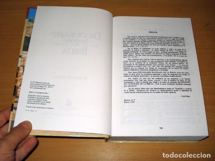 Libros de segunda mano: DICCIONARIO ILUSTRADO DE LA BIBLIA (DR. WILTON M. NELSON). EDITORIAL CARIBE INC. NASHVILLE (USA). - Foto 4 - 171165532