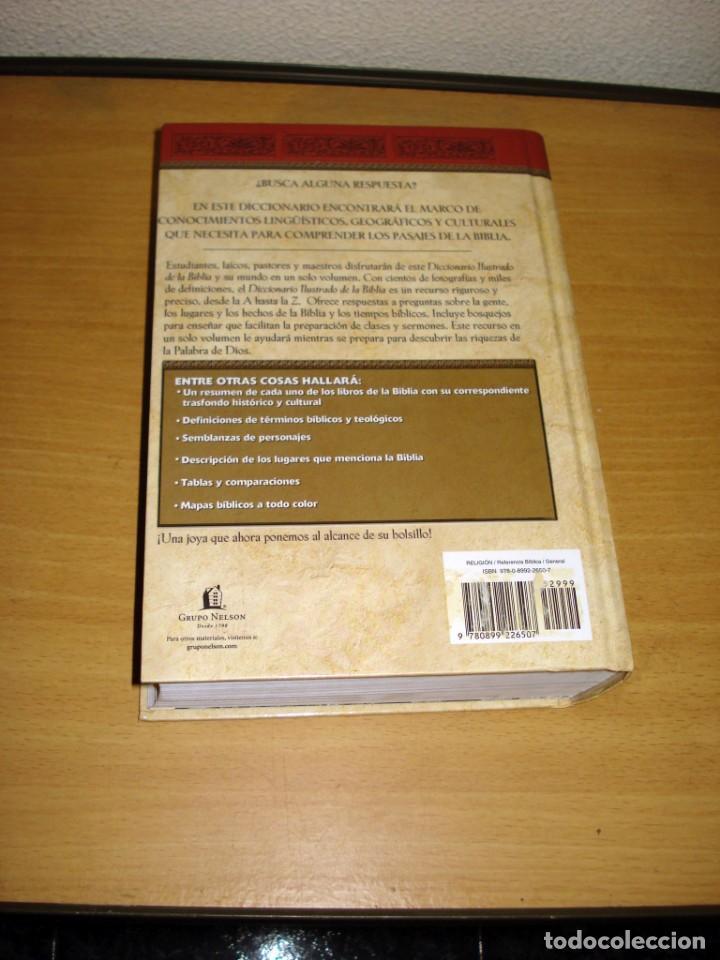 Libros de segunda mano: DICCIONARIO ILUSTRADO DE LA BIBLIA (DR. WILTON M. NELSON). EDITORIAL CARIBE INC. NASHVILLE (USA). - Foto 7 - 171165532
