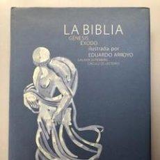 Libros de segunda mano: LA BIBLIA: GENESIS - EXODO. GALAXIA GUTENBERG - CIRCULO DE LECTORES, BARCELONA, 2004. Lote 171475279