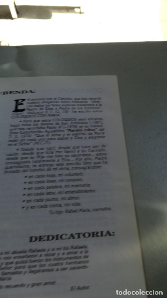 Libros de segunda mano: COLOQUIOS CON MARIA/ RAFAEL Mª LOPEZ MELUS/ F305 - Foto 6 - 171692028