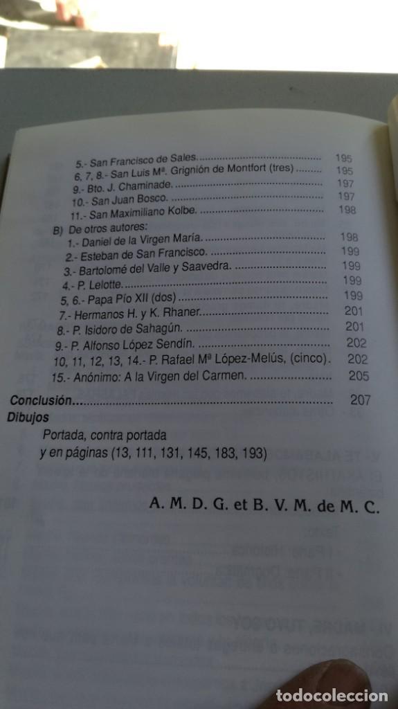 Libros de segunda mano: COLOQUIOS CON MARIA/ RAFAEL Mª LOPEZ MELUS/ F305 - Foto 11 - 171692028