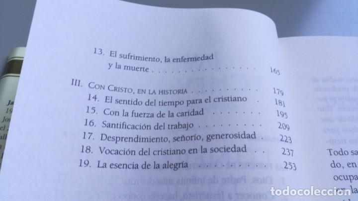Libros de segunda mano: ITINERARIOS DE VIDA CRISTIANA/ JAVIER ECHEVARRIA/ F305 - Foto 10 - 171693457