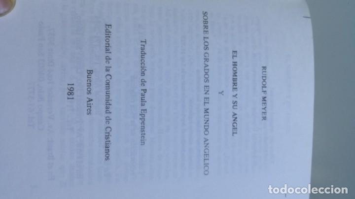 Libros de segunda mano: EL HOMBRE Y SU ANGEL/ RUDOLF MEYER/ F305 - Foto 3 - 171694372