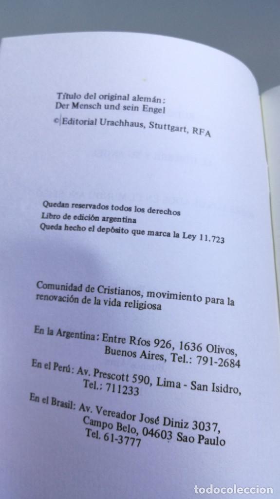 Libros de segunda mano: EL HOMBRE Y SU ANGEL/ RUDOLF MEYER/ F305 - Foto 4 - 171694372