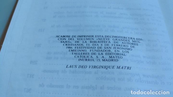 Libros de segunda mano: 9 GRANDES MENSAJES/ JESUS IRIBARREN JOSE LUIS GUTIERREZ / F305 - Foto 9 - 171694493