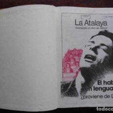 Libros de segunda mano: LA ATALAYA AÑO 1980 COMPLETO. Lote 171696505