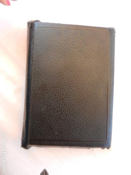 Libros de segunda mano: HOLY BIBLE - AMERICAN BIBLE SOCIETY NEW YORK 1955 - PORTADAS DE PIEL CON CREMALLERA VER DESCRIPCIÓN. - Foto 2 - 171702457