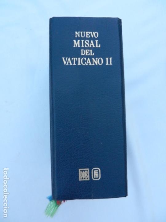 NUEVO MISAL DEL VATICANO II - ED. DESCLÉE DE BROUWER. ED. MENSAJERO - BILBAO 2000. (Libros de Segunda Mano - Religión)