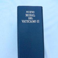 Libros de segunda mano: NUEVO MISAL DEL VATICANO II - ED. DESCLÉE DE BROUWER. ED. MENSAJERO - BILBAO 2000. . Lote 171703352