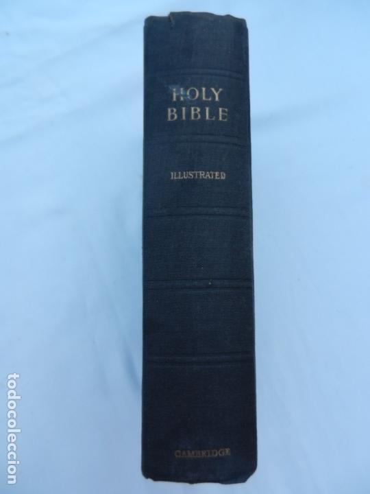 HOLY BIBLE - CAMBRIDGE AT THE UNIVERSITY PRESS - ILUSTRADA. (Libros de Segunda Mano - Religión)