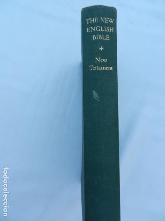 THE NEW ENGLISH BIBLE - NEW TESTAMENT - OXFORD-CAMBRIDGE UNIVERSITY PRESS 1961. (Libros de Segunda Mano - Religión)