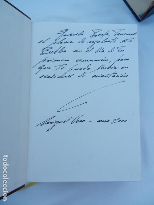 Libros de segunda mano: LA SANTA BIBLIA - LA PALABRA DE DIOS ILUSTRADA - SAN PABLO 1991. - Foto 2 - 171706828