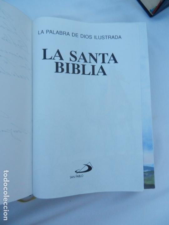 Libros de segunda mano: LA SANTA BIBLIA - LA PALABRA DE DIOS ILUSTRADA - SAN PABLO 1991. - Foto 3 - 171706828