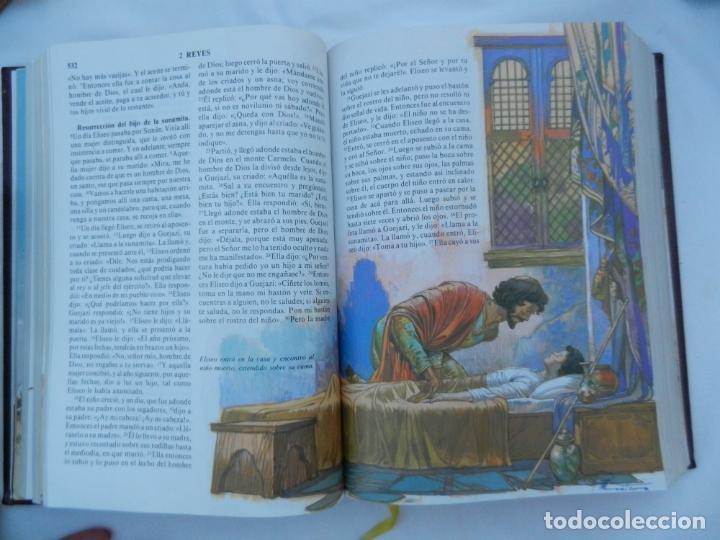 Libros de segunda mano: LA SANTA BIBLIA - LA PALABRA DE DIOS ILUSTRADA - SAN PABLO 1991. - Foto 4 - 171706828