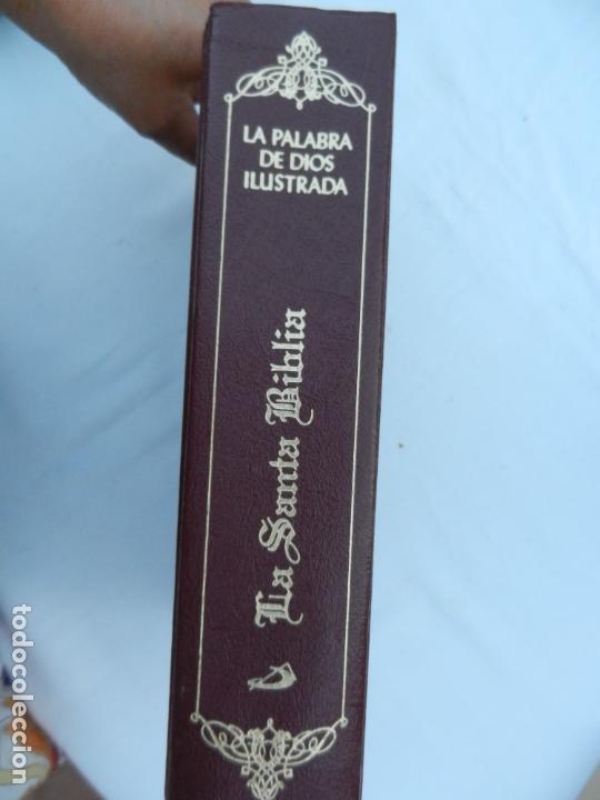 Libros de segunda mano: LA SANTA BIBLIA - LA PALABRA DE DIOS ILUSTRADA - SAN PABLO 1991. - Foto 6 - 171706828