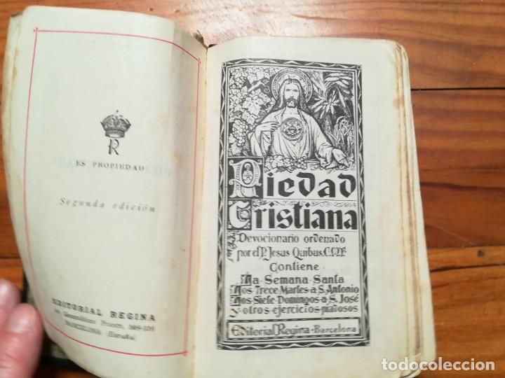 Libros de segunda mano: Piedad Cristiana 1944 - Foto 2 - 171706927