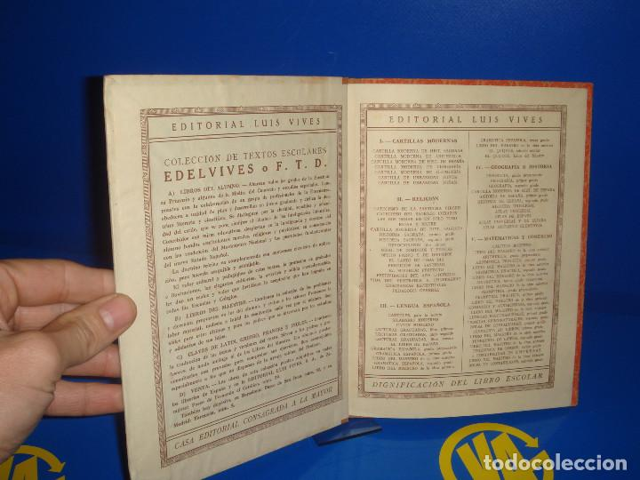 Libros de segunda mano: Libro CATECISMO DEL SAGRADO CORAZON editorial Luis vives -descatalogado-1950 - Foto 3 - 171707230