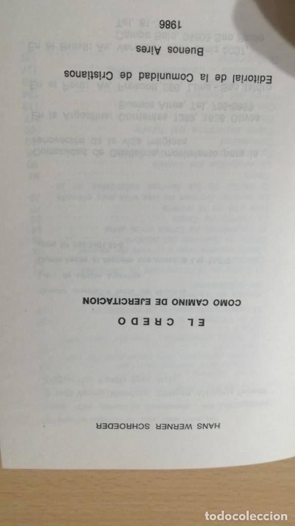 Libros de segunda mano: EL CREDO COMO CAMINO DE EJERCITACION - HANS WERNER/ TEXTO 31 - Foto 3 - 172223605