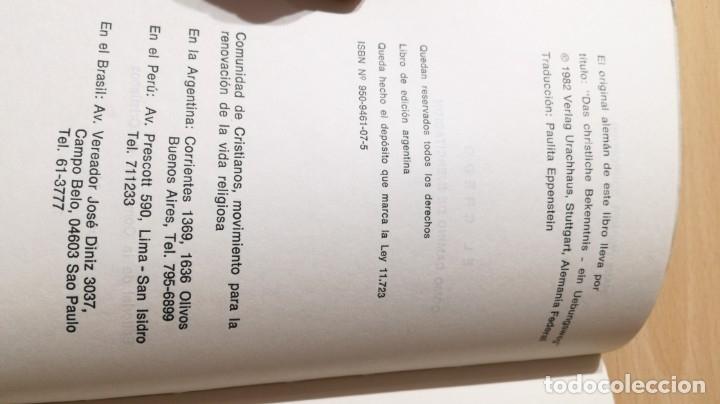 Libros de segunda mano: EL CREDO COMO CAMINO DE EJERCITACION - HANS WERNER/ TEXTO 31 - Foto 4 - 172223605