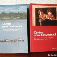 Libros de segunda mano: CARTAS DESDE CONTAMANA (DOS TOMOS) - JOSÉ LUIS COLL - ARTES GRÁFICAS FERNANDO GIL - VALENCIA (2011). Lote 172268534