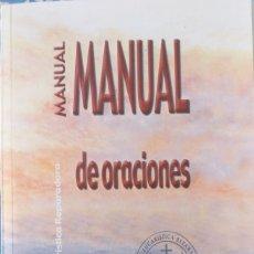 Libros de segunda mano: MANUAL DE ORACIONES . Lote 172291230